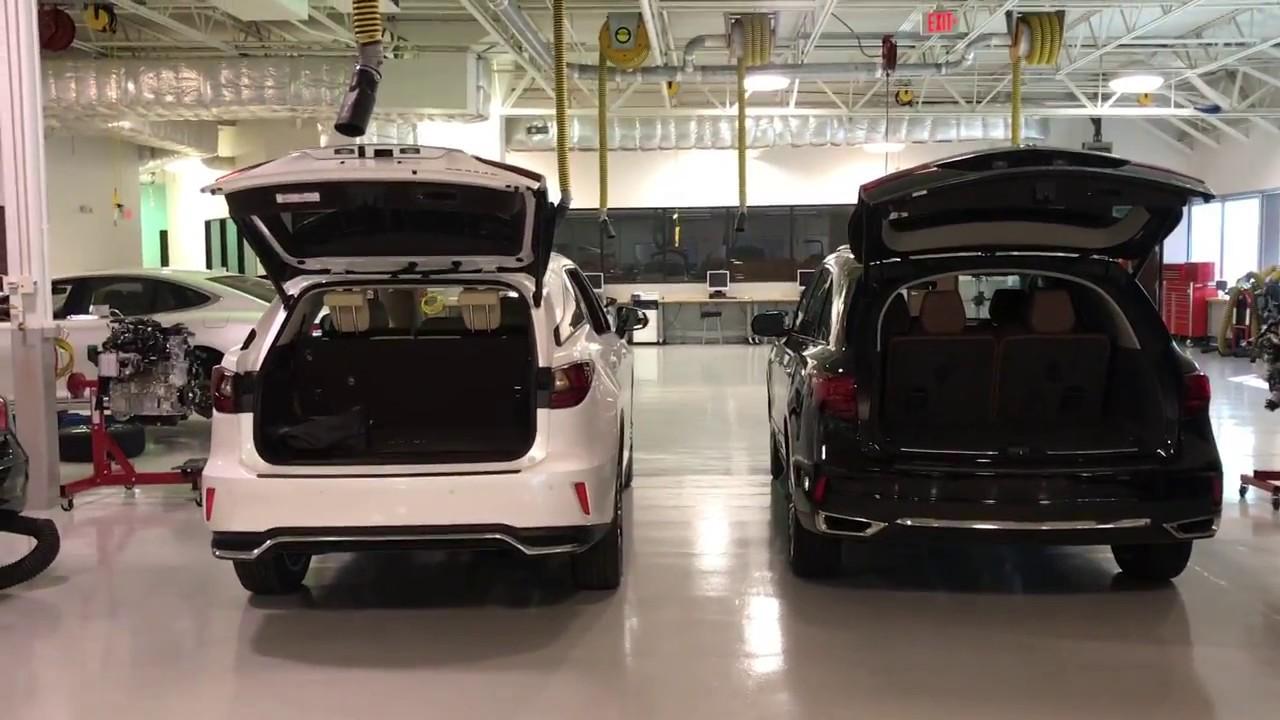 2018 Lexus Rx 350 L 7 Seater Vs Acura Mdx