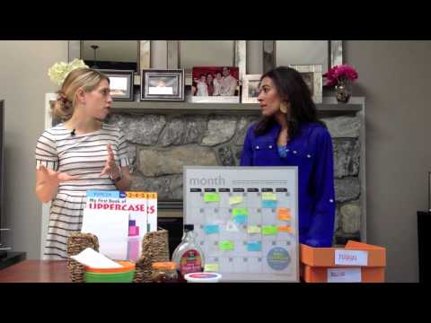 Home Organization & Time Management Tips