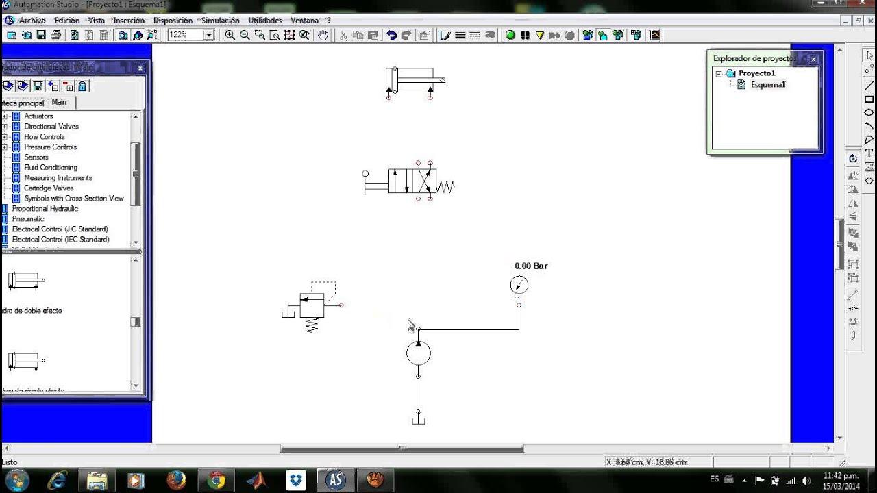 Circuito Hidraulico Basico : Circuito hidráulico básico youtube