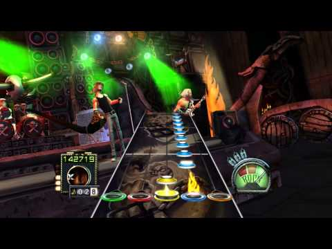 Amon Amarth - Once Sent From The Golden Hall Guitar Hero Custom