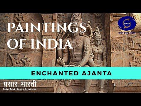 Painting of India - Enchanted Ajanta