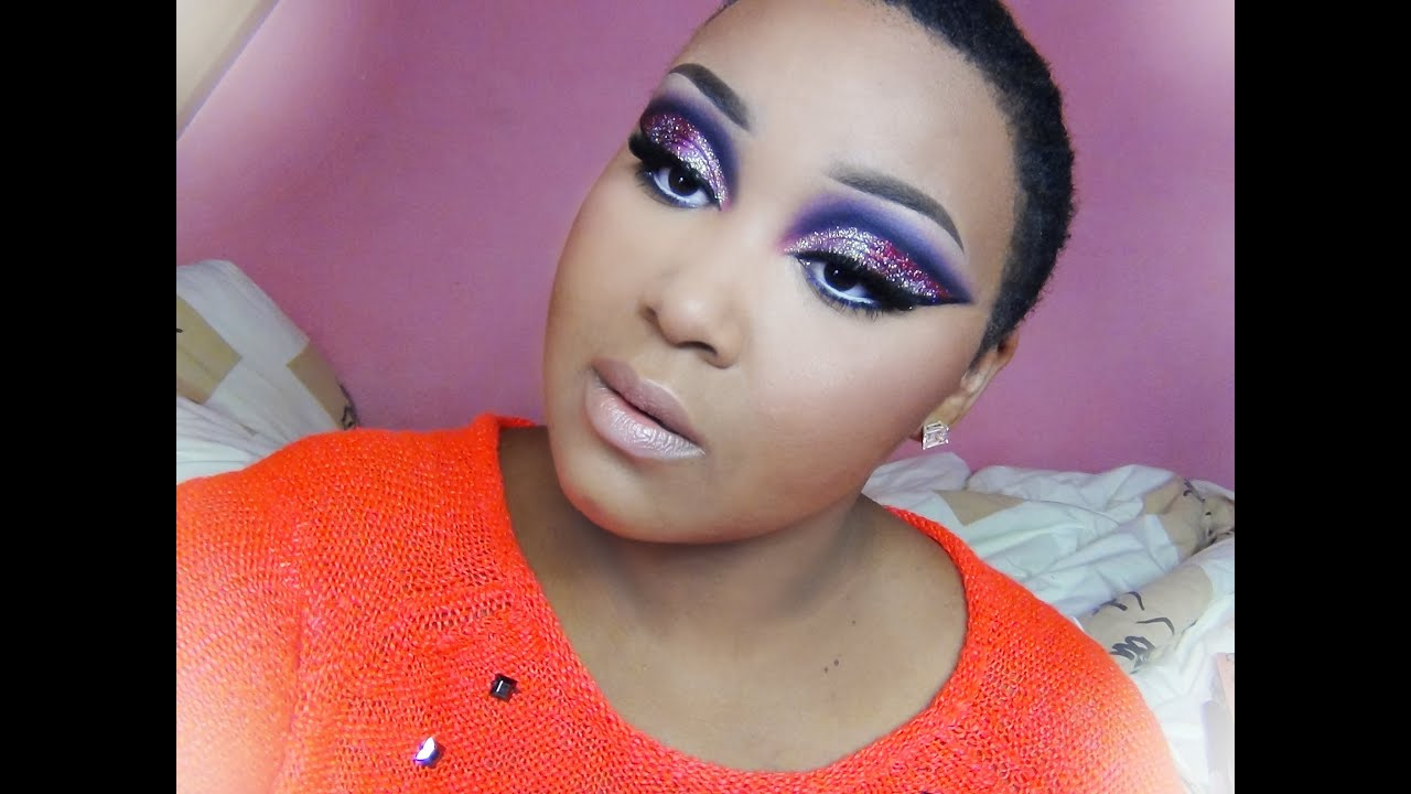 Make Up Look Mardi Gras Overdoserequested Youtube
