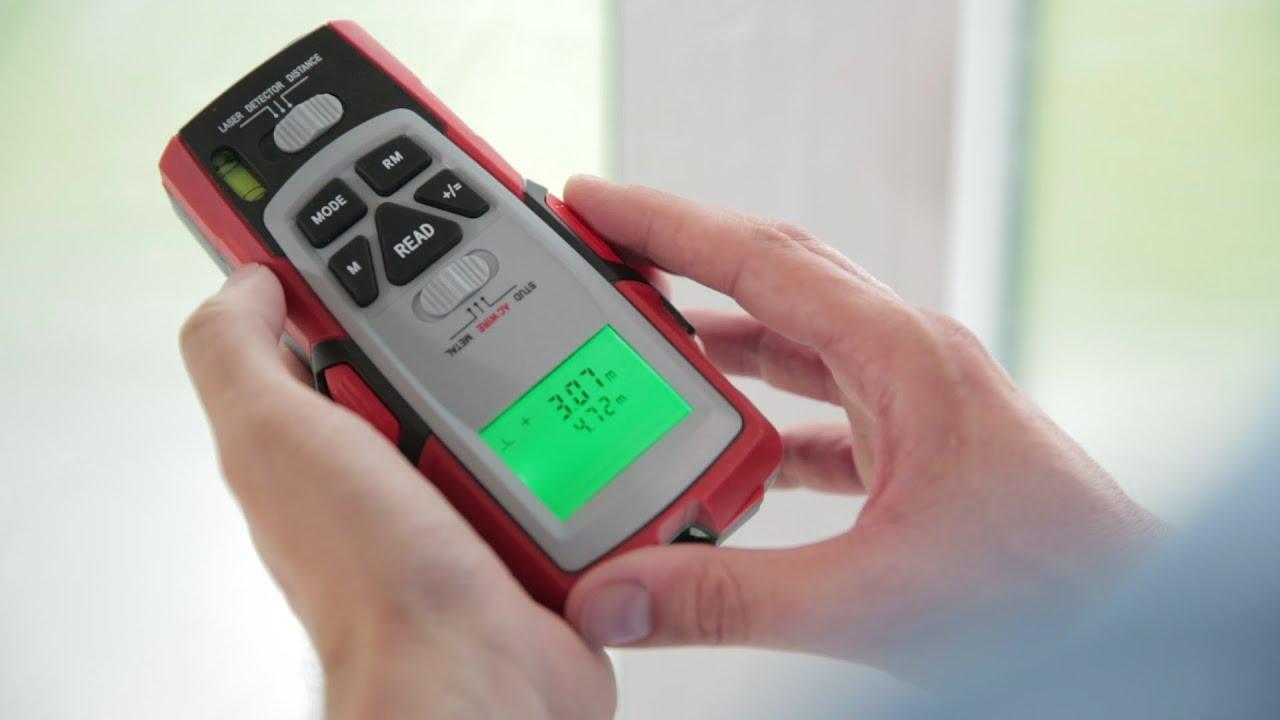 Entfernungsmesser Laser Vs Ultraschall : Produktvideo powerfix multifunktionsdetektor lidl lohnt sich