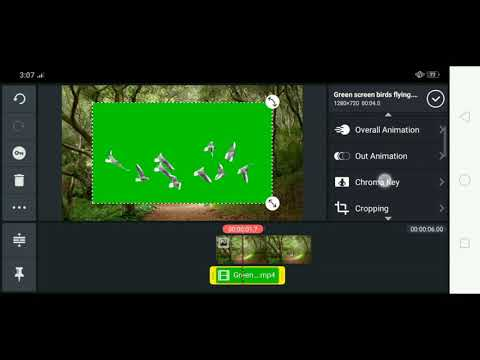 How to use Green Screen Effects / Chroma Key on Android Device / KINEMASTER Apps Tutorial