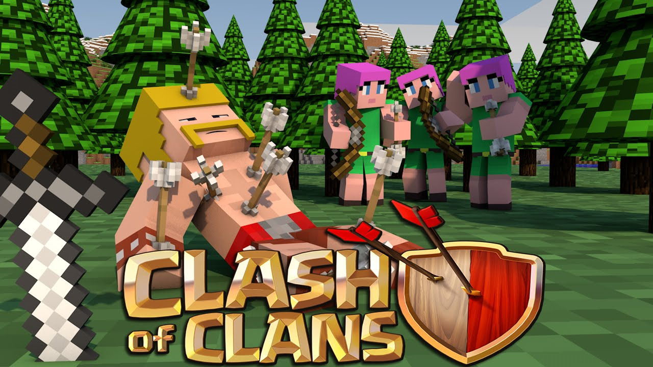 Minecraft Clash Of Clans Nations Ep  Our Base Is Under Siege Youtube