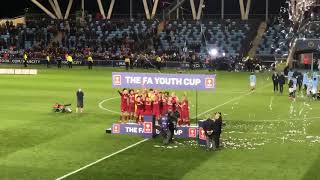 Liverpool lift the FA Youth Cup 2019