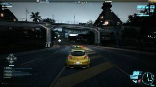 NFS World - Renault Megane RS vs. Lotus Exige Cup 260 - Testrun @ Ocean View - 1080p