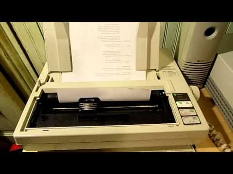 1987 Apex 80 9-pin Dot Matrix printer (A quick look) and I HAVE A FACEBOOK NOW!