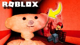 If you see this bear in Roblox: RUN !!!! 🧸