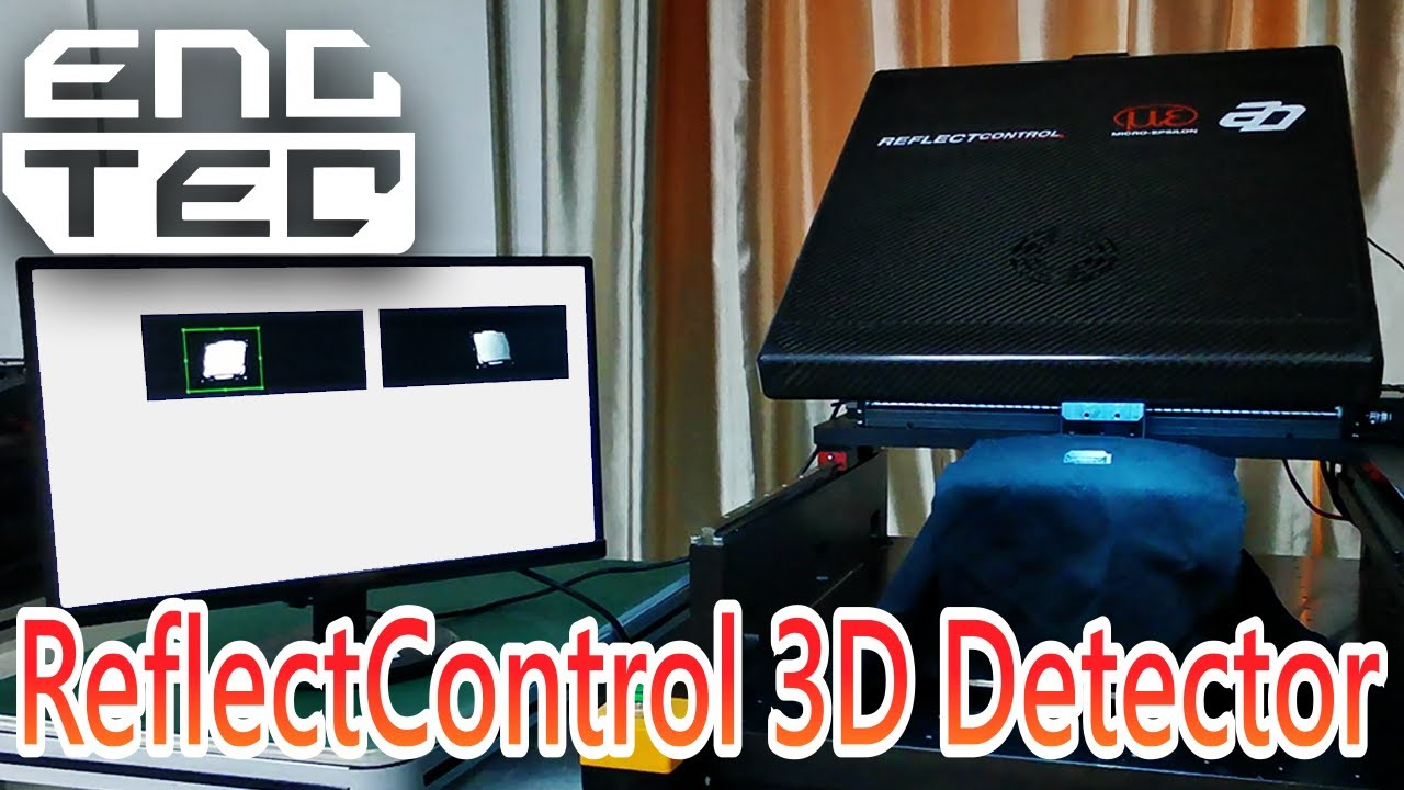 ENCTEC ReflectControl 3D 量測技術展示-散熱器平面度|ENCTEC ReflectControl 3D Measurement -Heatsink Flatness