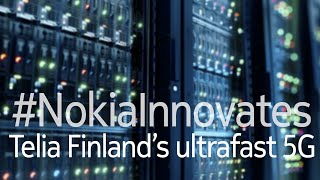 Nokia innovations enabling 5G for Telia Finland