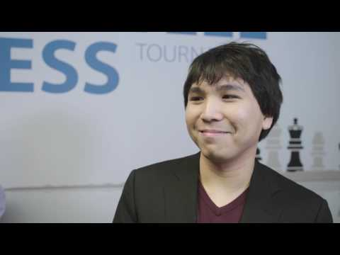 Interview with the 2017 Tata Steel Chess Tournament winner: Wesley So