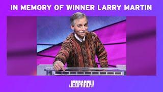 In Memory of Teachers Tournament Winner Larry Martin