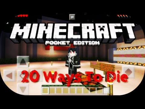 ✔MCPE Let's Play 20 Ways To Die! by MierulLORD (Malay Language)