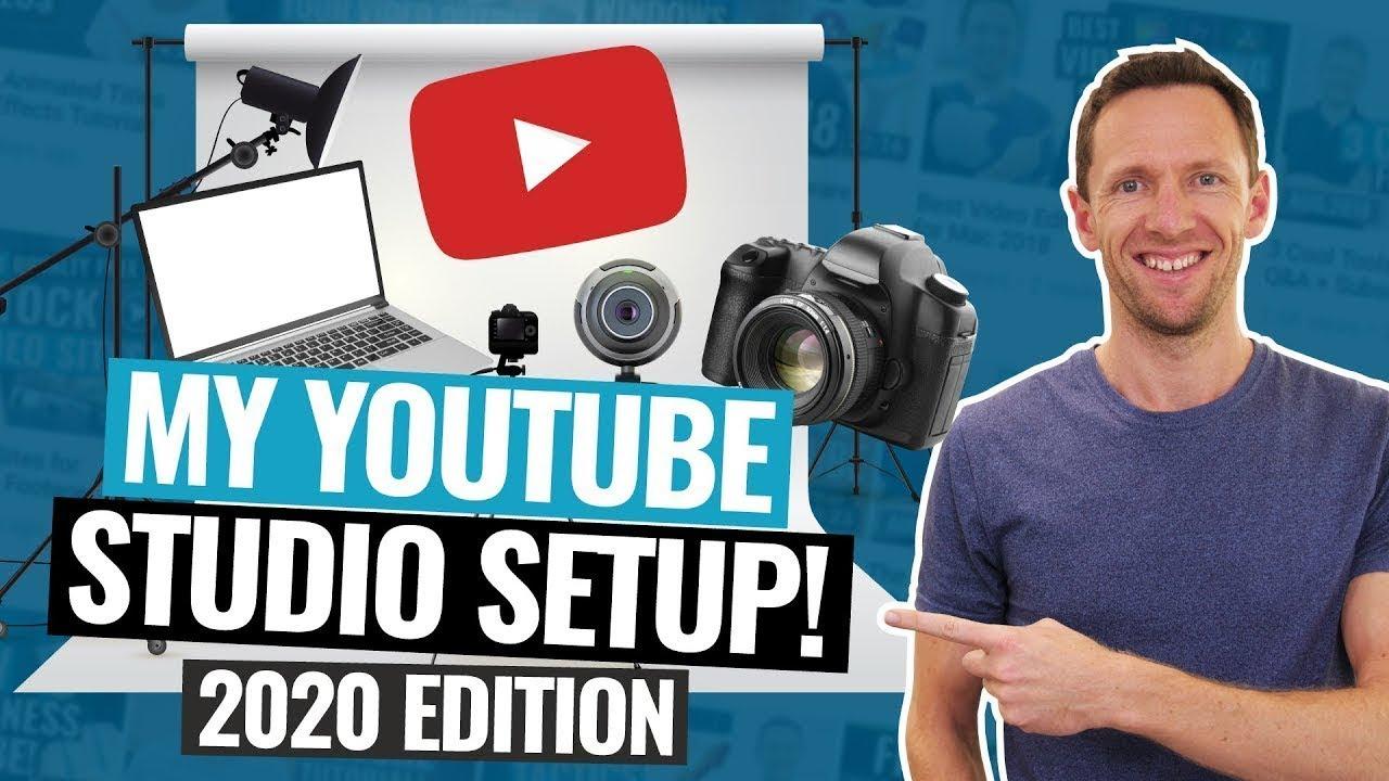My YouTube Studio Setup: 2020 Edition!