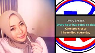 Citra Utami - A thousand years cover karaoke by smule