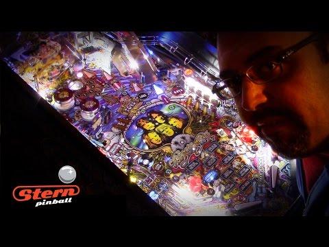 Stern AEROSMITH PRO pinball gameplay & mini-review