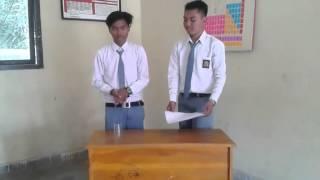 Percobaan Fisika Hukum I Newton
