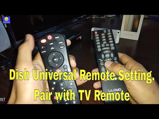 Pair DishTV Universal Remote with Any TV Remote in just 3 min