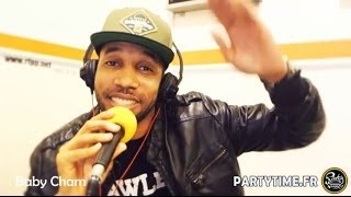 BABY CHAM - Freestyle at PartyTime Radio Show - 6 AVRIL 2014