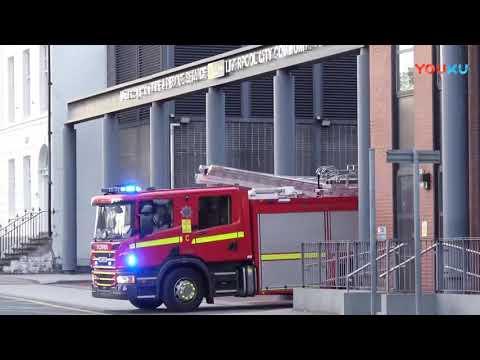 """最""""霸气""""的消防车 警车和豪车又如何 敢阻拦我救火者, 照撞不误!"""