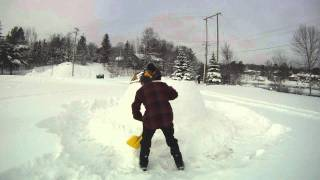 How To Build An Igloo In Canada