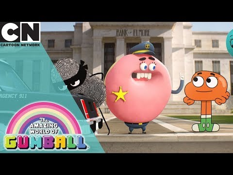 The Amazing World of Gumball | Darwin's Lunch Dilemma | Cartoon Network UK