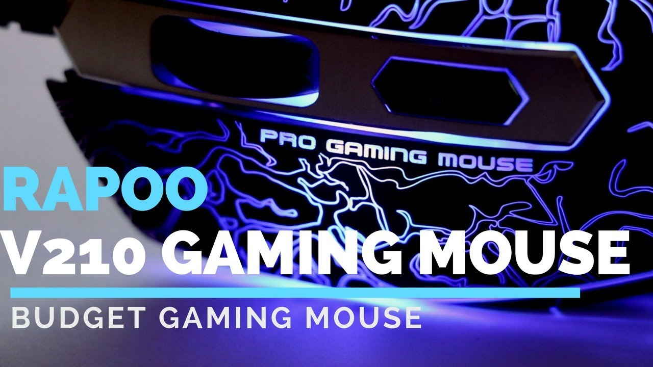 901656bf0a2 Rapoo V210    Budget Gaming Mouse    GIVEAWAY    - YouTube