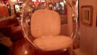 Eero Aarnio Ball Chair Swinging With Mount