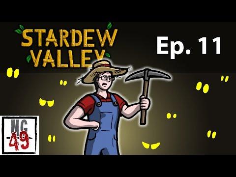 Nightghost Plays Stardew Valley - Episode 11 - Deep Mine!