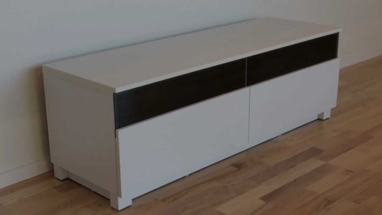 BASE Tv-bänk Vit Folie Furniturebox