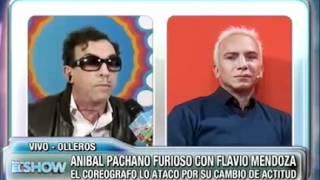 Anibal Pachano responde los dichos de Flavio Mendoza desde el móvil de Este es el show