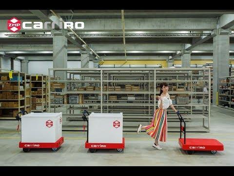 物流支援ロボット「CarriRo(キャリロ)」