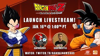 DRAGON BALL Z: KAKAROT - Launch Livestream