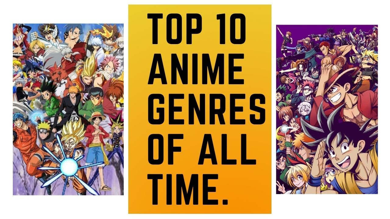 all anime genres