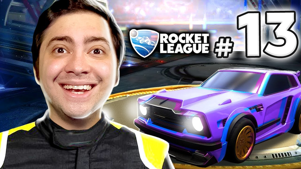 alanzoka jogando Rocket League - #13