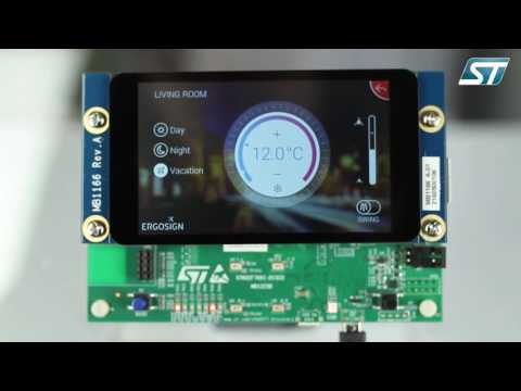 Advanced GUI on STM32F7 powered by Embedded Wizard graphic solution