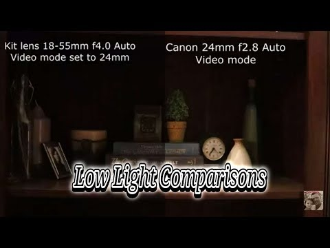 canon-24mm,-50mm,-10-18mm,-kit-lens,-side-by-side-low-light-video-comparisons