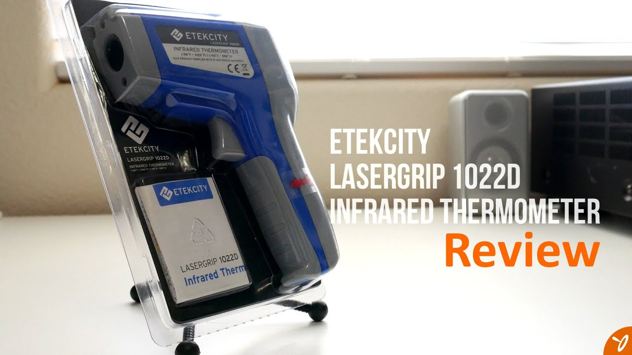 Etekcity Lasergrip 1022D Infrared Thermometer Review