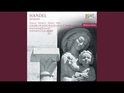 Messiah, HWV 56, Pt. I: 2. Recitative. Comfort Ye My People (Tenor)