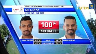 2nd Test Day 1 Highlights - South Africa tour of Sri Lanka