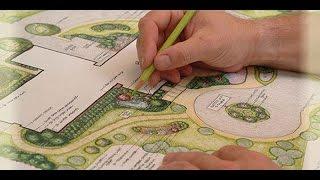 видео Ландшафтный дизайн дачного участка своими руками