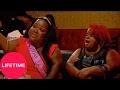 watch he video of Little Women: Atlanta: Monie Throws Her Drink (S1, E4) | Lifetime