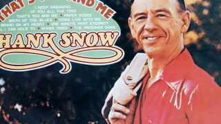 Watch Hank Snow All I Can Hold To video
