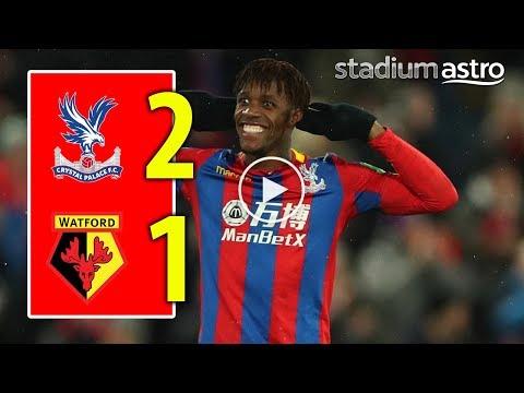 FT Crystal Palace 2 - 1 Watford
