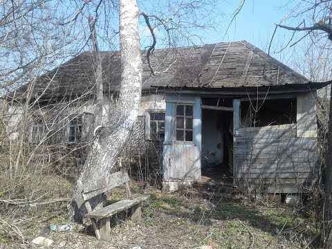Заброшенная деревня в Тамбовской области.  Захожу в брошенные дома