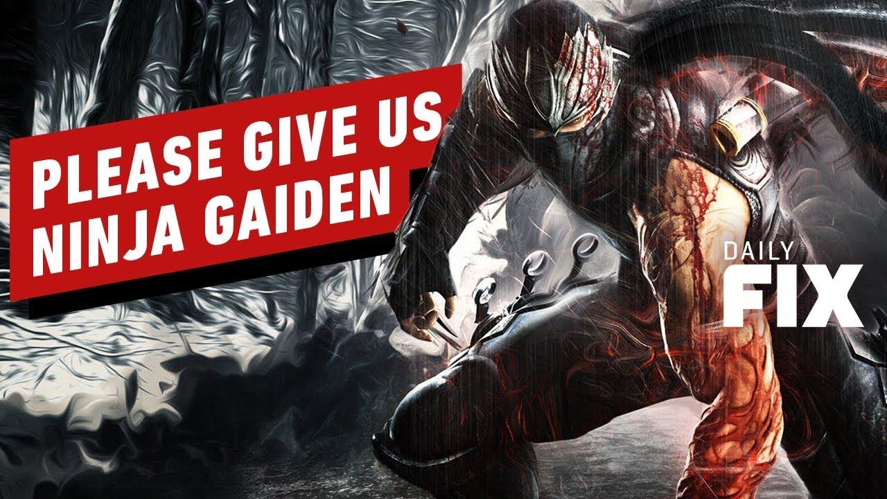 L'équipe Ninja sait que nous voulons plus de Ninja Gaiden - IGN Daily Fix + vidéo