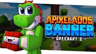 Minecraft SpeedART - Apixelados Banner 2 | Eonofre12