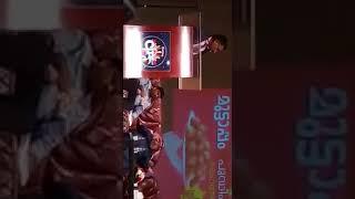 الكاتب اﻹماراتي أحمد إبراهيم يلقي كلمة ضيف شرف الحفل السنوي لمسلمي الهند في دبي يوم13يناير2017 1