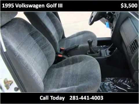 1995 Volkswagen Golf III Used Cars Humble TX